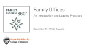 Thumbnail for entry Family Offices: An Introduction and Leading Practices