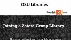 Thumbnail for entry How to Join a Zotero Group Library