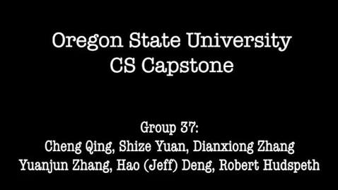 Thumbnail for entry CS Capstone Group 37 Demonstration Video (Simplified Cut)