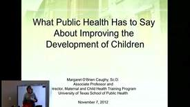 Thumbnail for entry Campbell Lecture - November 7, 2012