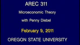 Thumbnail for entry AREC 311 Winter 2011 - Lecture 19