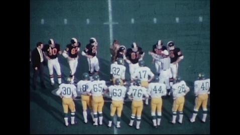 Thumbnail for entry University of Oregon vs. Oregon State University. Civil War football game, November 21, 1970.
