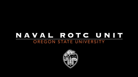 Thumbnail for entry Naval ROTC Promotional Video 2019