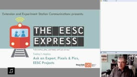 Thumbnail for entry EESC Express November 2016- Ask an Expert, Pixels and Pictures, & more