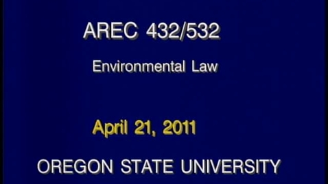 Thumbnail for entry AREC 432/532 - Lecture 08