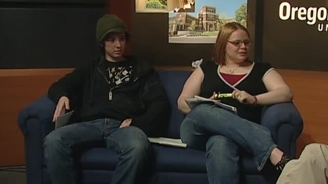 """Thumbnail for entry """"Campus View"""" [KBVR-TV Show], May 6, 2008"""