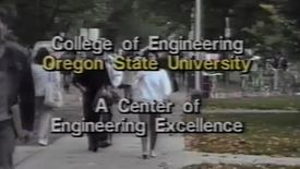 "Thumbnail for entry ""College of Engineering, Oregon State University: A Center of Engineering Excellence,"" circa 1990s"