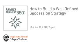 Thumbnail for entry How to Build a Well Defined Succession Strategy