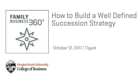 How to Build a Well Defined Succession Strategy