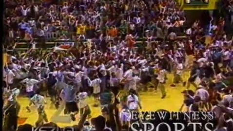Thumbnail for entry Oregon State University football montage, 1994