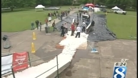 Thumbnail for entry Snow in the Quad - KGW Channel 8 News Coverage - May 25, 2006