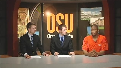 """Thumbnail for entry """"The Beaver Sports Show,""""  [KBVR-TV]  March 3, 2010"""