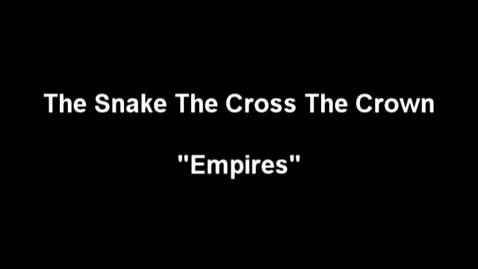 """Thumbnail for entry """"The Meow Meow Show"""" [KBVR-TV] - The Snake The Cross The Crown perform their song, """"Empires,"""" 2004"""