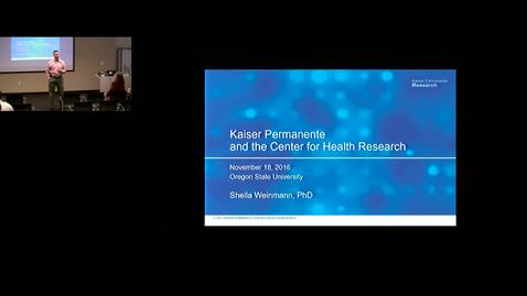 Thumbnail for entry Kaiser Permanente and the Center for Health Research