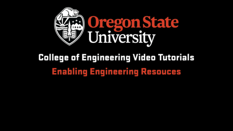 Thumbnail for entry Enabling Engineering Resources