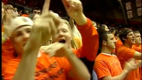 Thumbnail for entry Oregon State University men's and women's basketball montage, 2004-2005