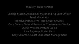 Thumbnail for entry Industry Insiders Panel