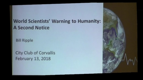 Thumbnail for entry World Scientists' Warning to Humanity: A Second Notice