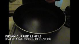 Thumbnail for entry Curried Lentils