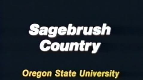 """Thumbnail for entry """"Sagebrush Country,"""" 1987"""