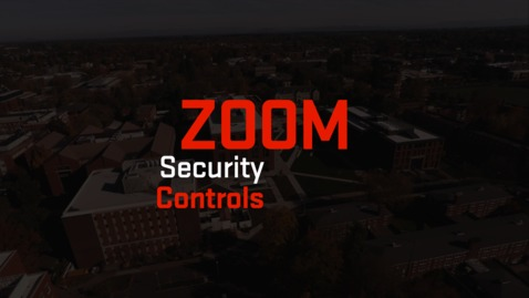 Thumbnail for entry Zoom | Security Controls