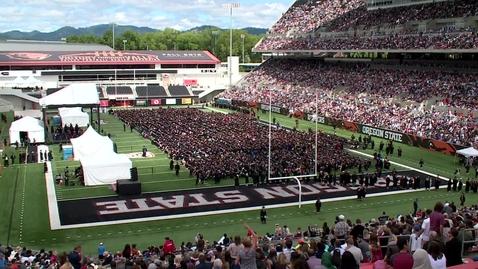 Thumbnail for entry 148th Annual Oregon State University Commencement (2017) - Platform Program