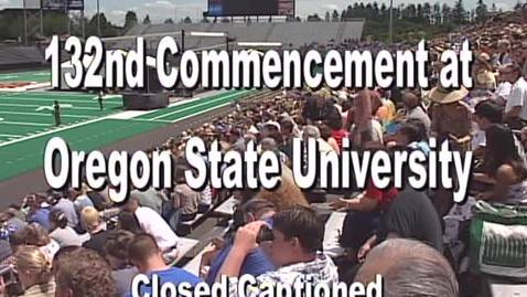2001 OSU Commencement