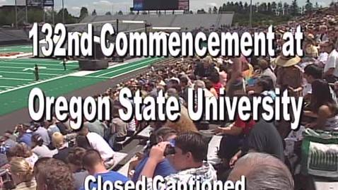 Thumbnail for entry 132nd Annual Oregon State University Commencement (2001)