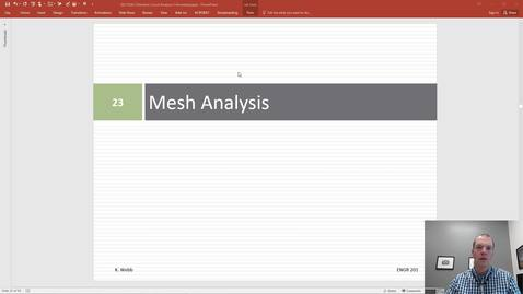 Thumbnail for entry Mesh Analysis