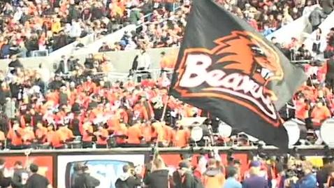 """Thumbnail for entry """"The Beaver Sports Show"""" [KBVR-TV], November 17, 2009"""