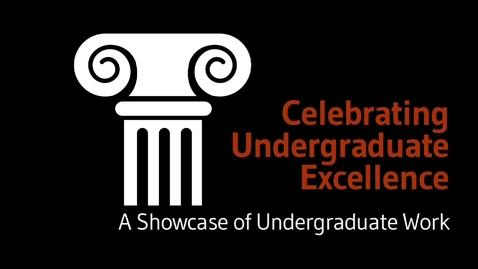 Thumbnail for entry Alejandra Marquez Loza - Undergraduate Excellence Star