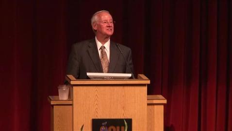 Thumbnail for entry 2014 University Day Part 2 - President Ed Ray