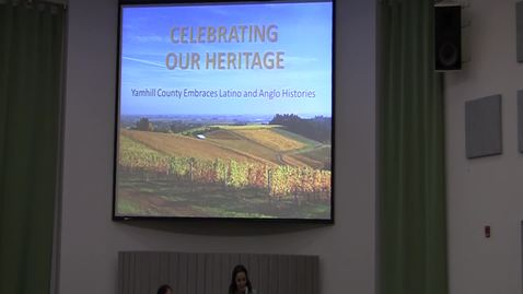 """""""Celebrating Our Heritage: Yamhill County Embraces Latino and Anglo Histories"""" September 25, 2015"""