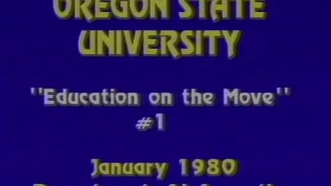 Thumbnail for entry Oregon State University logos footage, January 1980