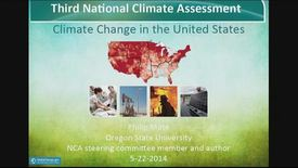 Thumbnail for entry Third Time's The Charm: The 2014 U.S. National Climate Assessment Report