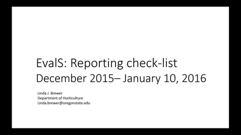 Thumbnail for entry EvalS: Ext_County_Report_Checklist - 2015 Dec 10 05:45:41