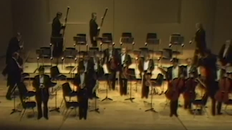 Thumbnail for entry Performance of the Prague Orchestra at LaSells Stewart Center, April 1983