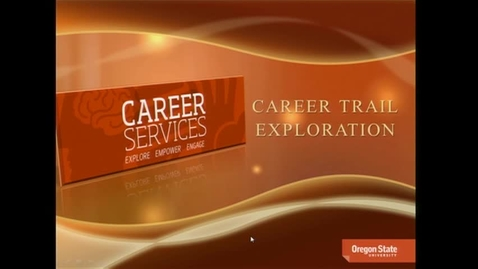 Thumbnail for entry Career Trail Exploration