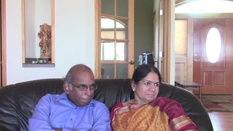 Thumbnail for entry Muthukrishna and Kalyani Ramanujam Oral History Interview