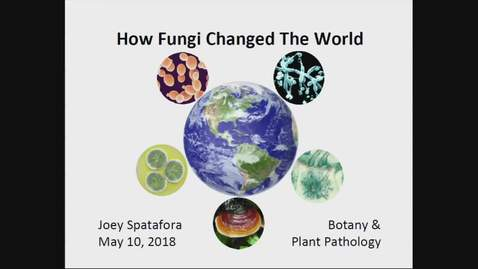 Thumbnail for entry 2018 Distinguished Professor Lecture - Joey Spatafora