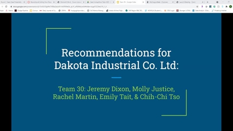Thumbnail for entry Case Presentation Team #30_400