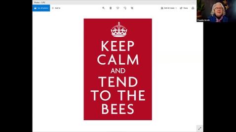 Thumbnail for entry Caring for Mason Bees - Multnomah Master Gardener Association's Speaker Series 2021_02