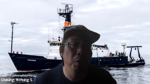 Thumbnail for entry Final Clip of Virtual Tour of Ocean Observing Research Cruise Dock Viewing with Jon Fram