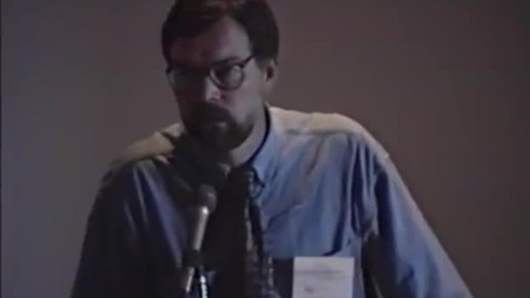 Thumbnail for entry Oregon Coast Sustainability Conference, Part 2. Newport, Oregon, June 6, 1996