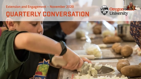 Thumbnail for entry Extension and Engagement Quarterly Conversation November 2020