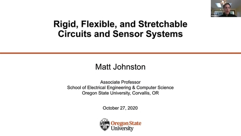 Thumbnail for entry Tech Talk Tuesday - Rigid, Flexible, and Stretchable Circuits and Sensor Systems
