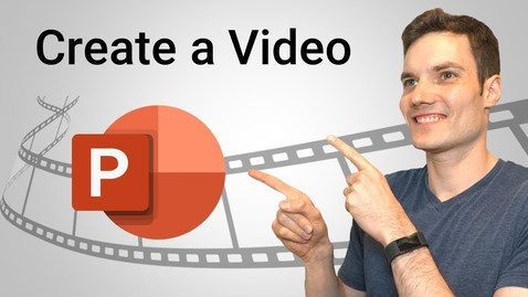 Thumbnail for entry How to Make a Video in PowerPoint - ppt to video