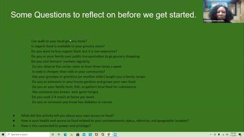 Thumbnail for entry Food Sovereignty - presenter Shantae Johnson, Mudbone Grown Farm - Multnomah Master Gardener Speaker Series