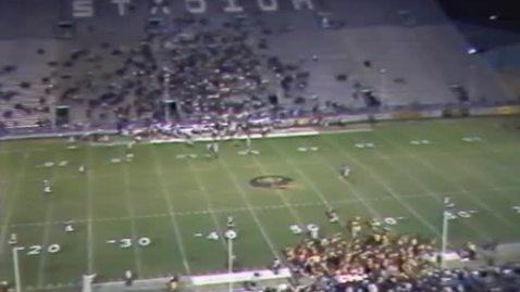 Thumbnail for entry Oregon State University vs. Grambling State University football, September 28, 1985