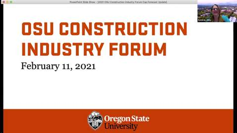 Thumbnail for entry 2021 Construction Industry Forum Capital Forecast Presentation